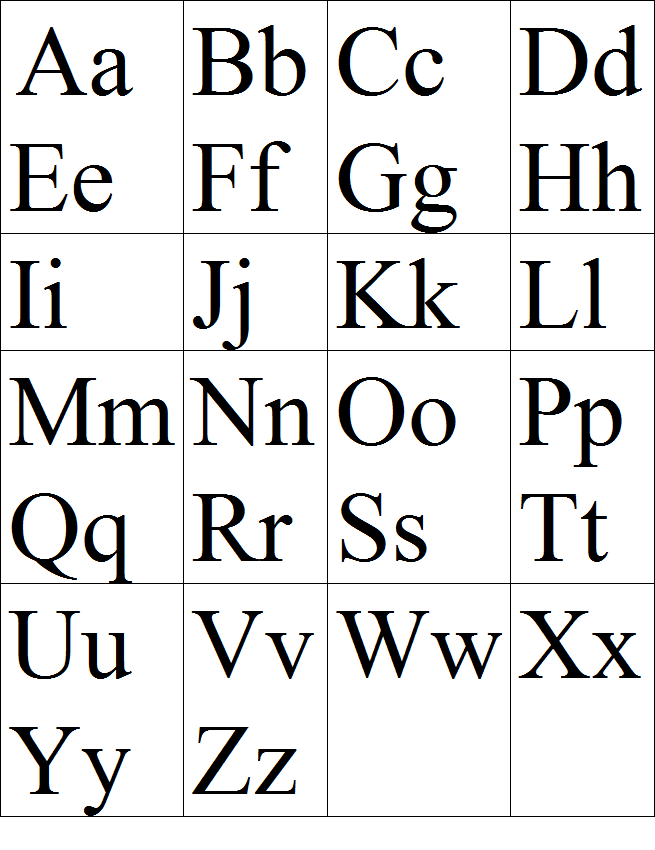 алфавит английский картинки на