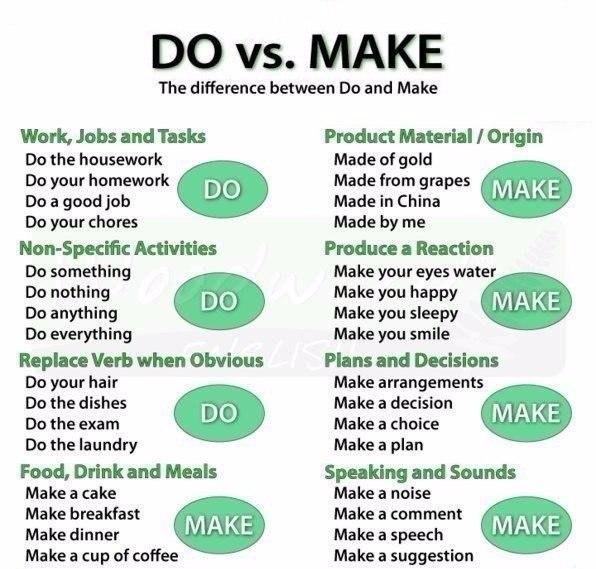 do - make